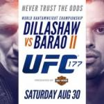 Poster oficial UFC 177